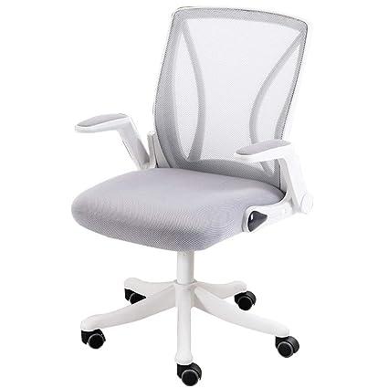 WQZB-Silla giratoria Sillas ergonómicas de Respaldo Alto para sillas de Escritorio Sillas giratorias para