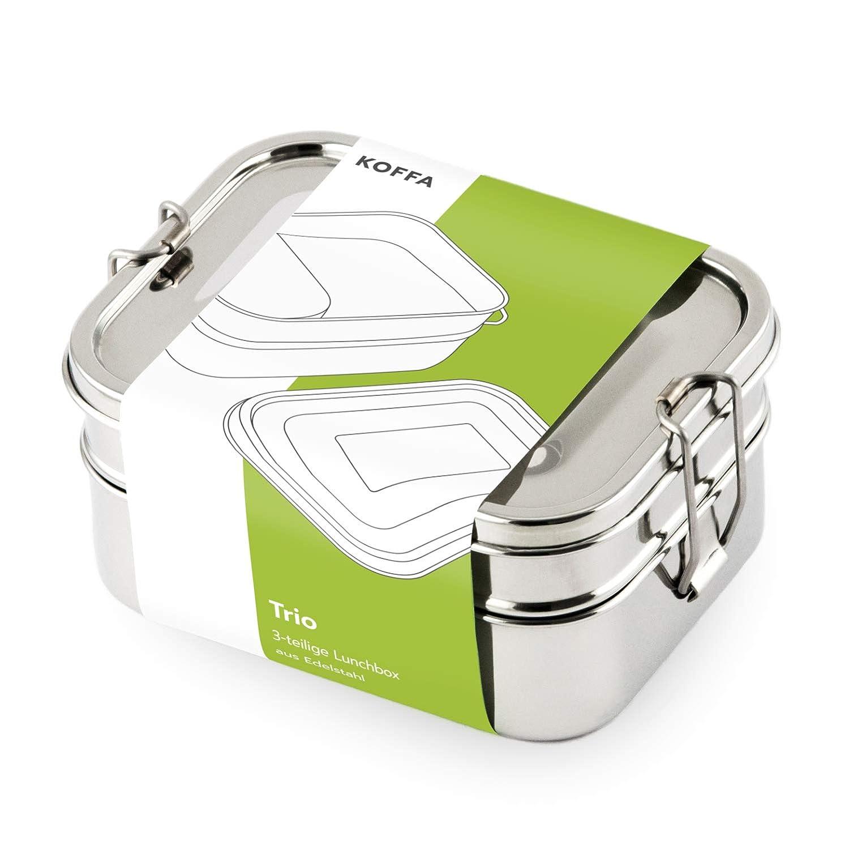 Lunchbox Edelstahl