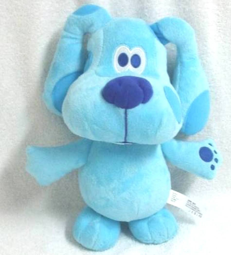 amazon com fisher price blue u0027s clues talking 11 inch blue plush