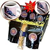 3dRose Birds, Blue Jay, Coffee Gift Baskets