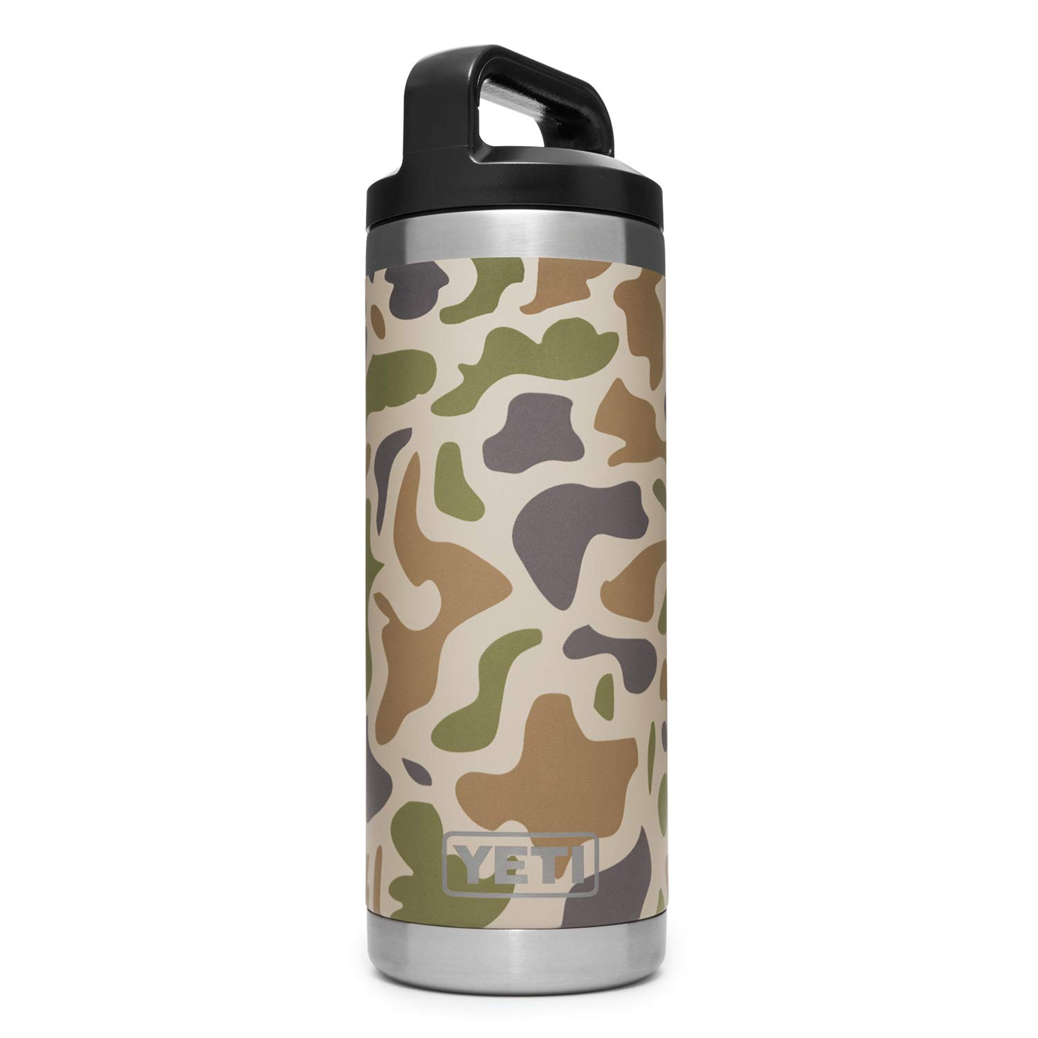 YETI Rambler 18 oz Vacuum Insulated Stainless Steel Bottle Cap, Camo