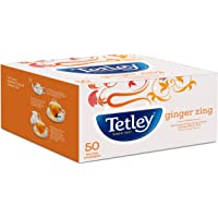 Tetley Flavour Tea Bags Ginger Zing 50s (100gm)