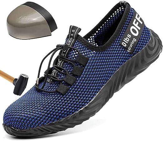 HOAPL Zapatos de Seguridad Deportivos para Hombres Calzados de ...