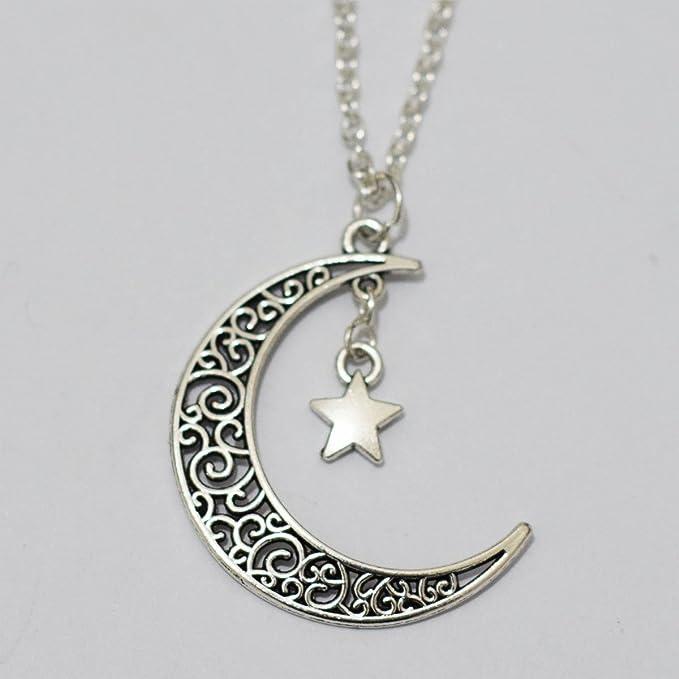collier lune amazon