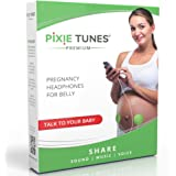 Pixie Tunes Premium High-Fidelity Baby Bump Speaker System to Play Sound, Music and Talk to Your Baby in The Womb…