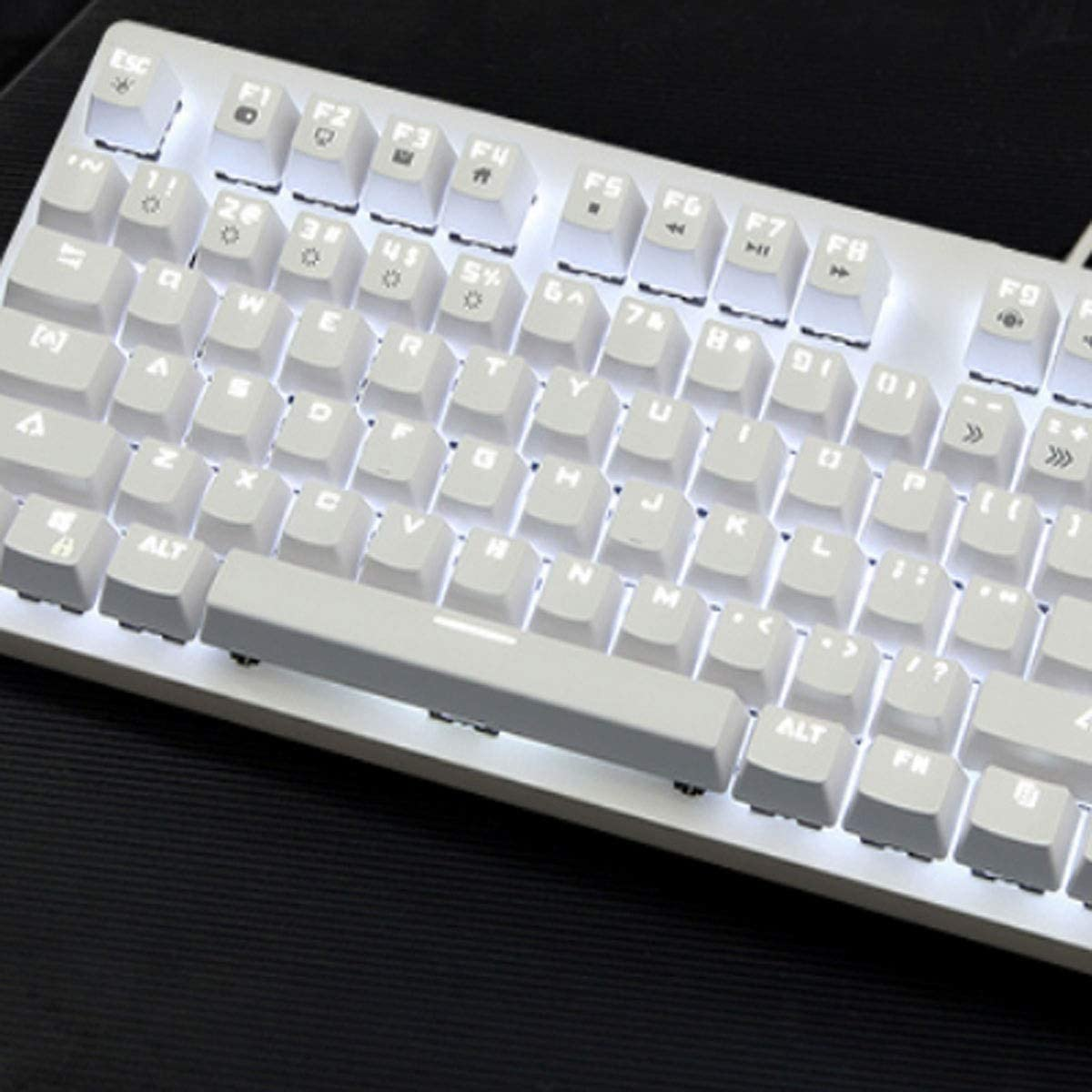 Color : White Mechanical Carrying Backlight Youshangshipin Keyboard Esport Game Special Style White, 44.414.54cm Computer Keyboard