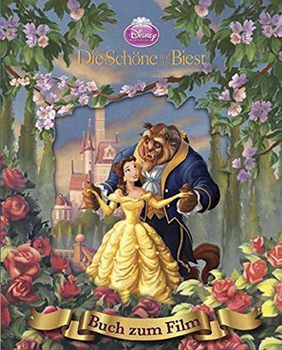 Disney Die Schöne und das Biest: Das Buch zum Film mit magischem 3D-Cover