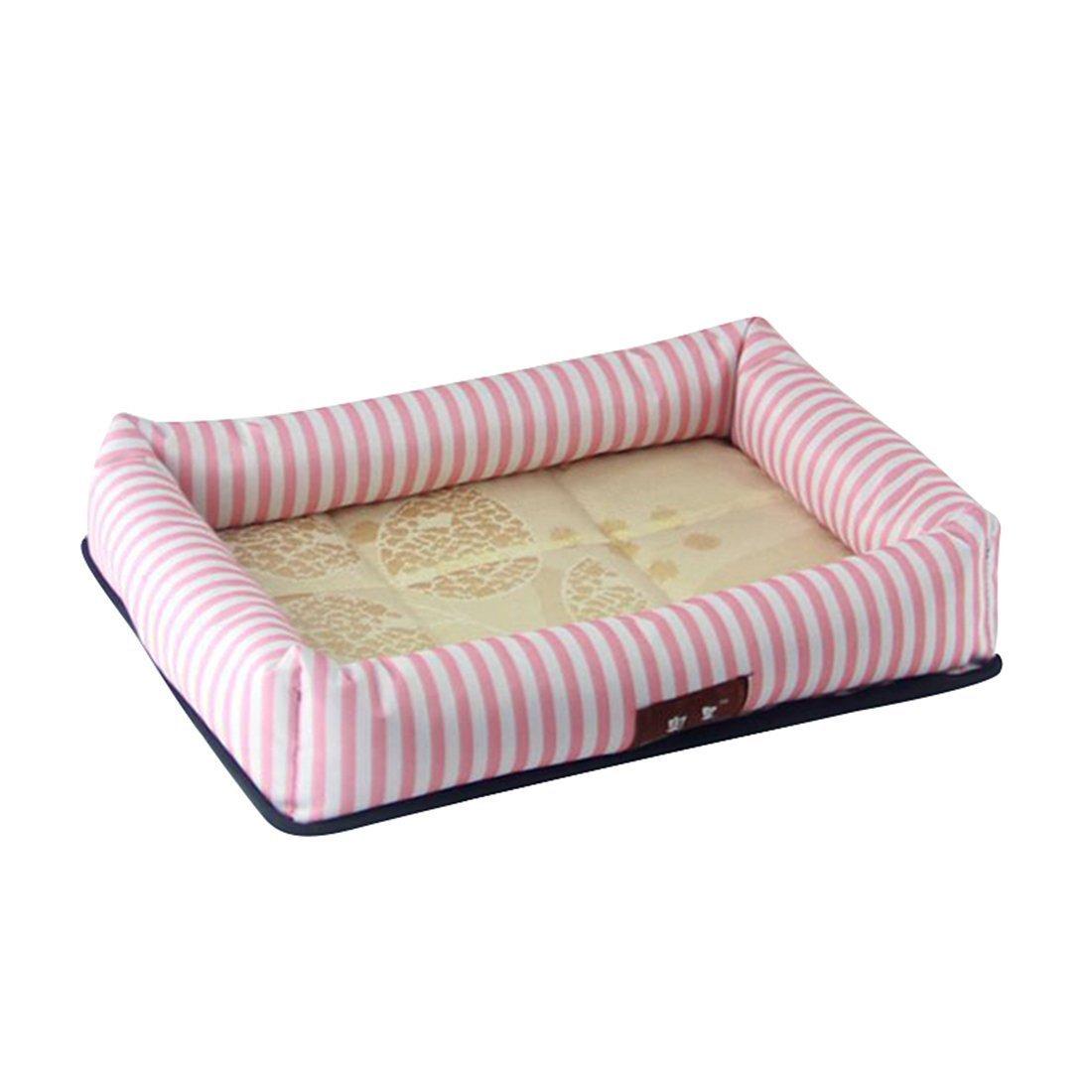 vendite calde Znyo Coperta da Letto per Animali Animali Animali Domestici Letto per Cani Estivo Pet Cooling Sleeping Mat Letto per Gatti Cuscino rosa  per il tuo stile di gioco ai prezzi più bassi