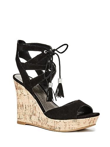 G by GUESS Womens Estes Black Sandal ...