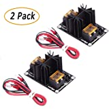 TopDirect 2 Pack Upgraded Heat Bed Power Module Expansion Hot Bed Mosfet MOS Tube for Extruder, Ramps, Anet A8 / A6 / A2, Makerbot MK8, RepRap, Mendel, Prusa i3, E3D V6 3D Printer