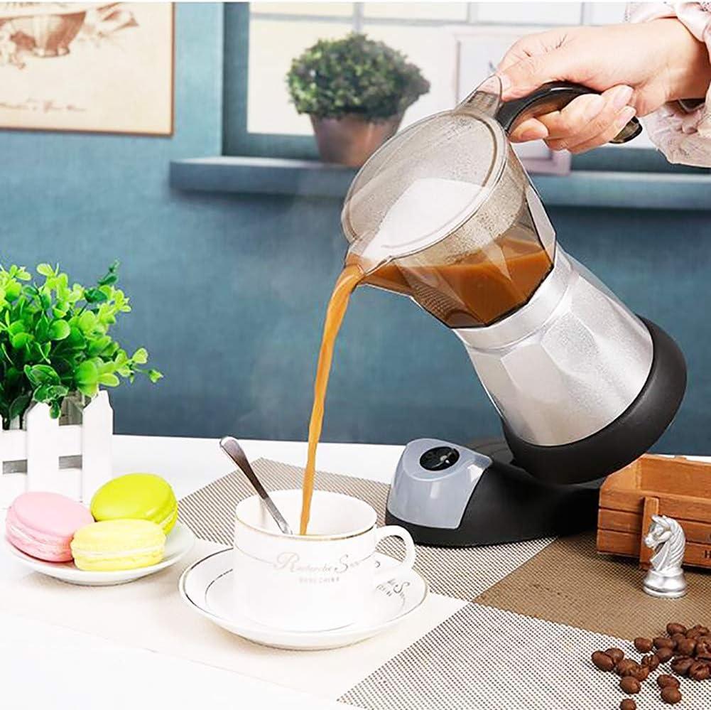 Cafetera exprés, cafetera eléctrica Moka de gran capacidad ...