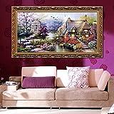 Kicode Cross Stitch Kit Garden Villa 65×40CM