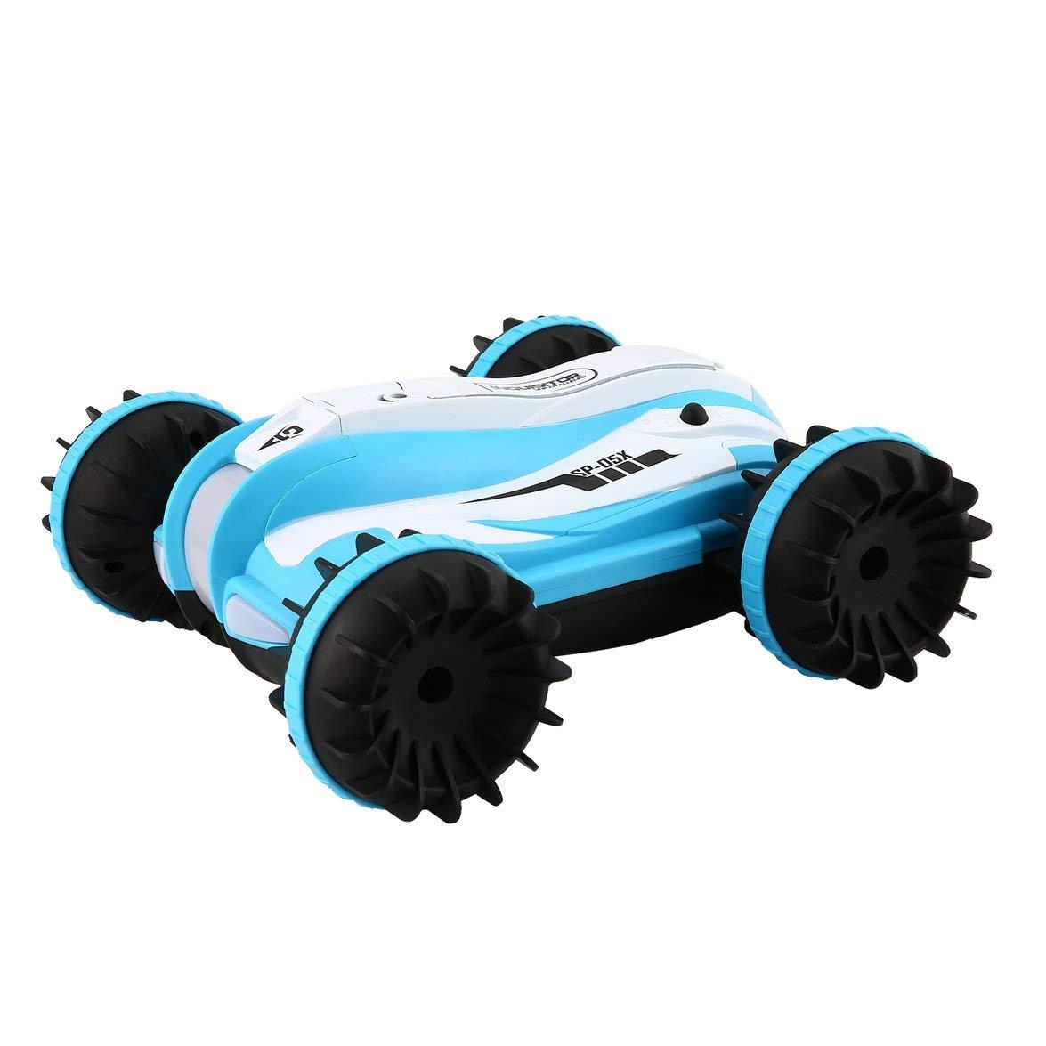 Kongqiabona YED 1804 1:12 2,4 GHz 10 km/h Amphibien Stunt RC Auto 360 Grad Rotation Fahrzeug RC Auto Spielzeug für Kinder Geschenk