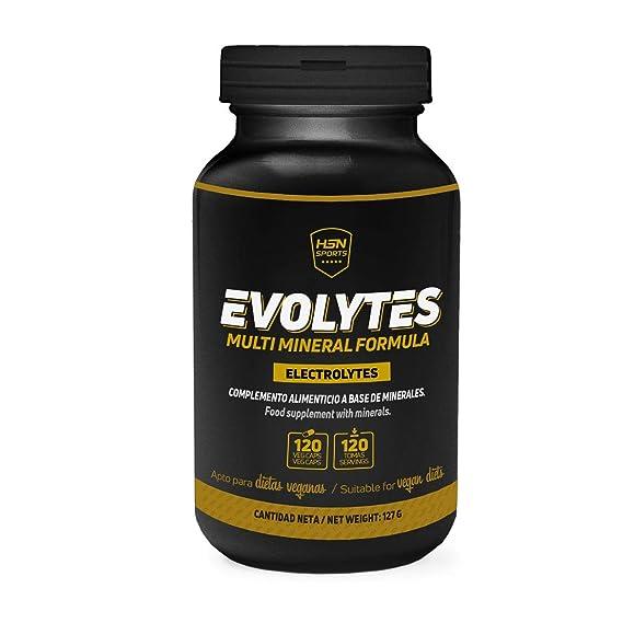 Sales Minerales Electrolitos en pastillas de HSN Sports - Evolytes - Hidratación para Trail Running,