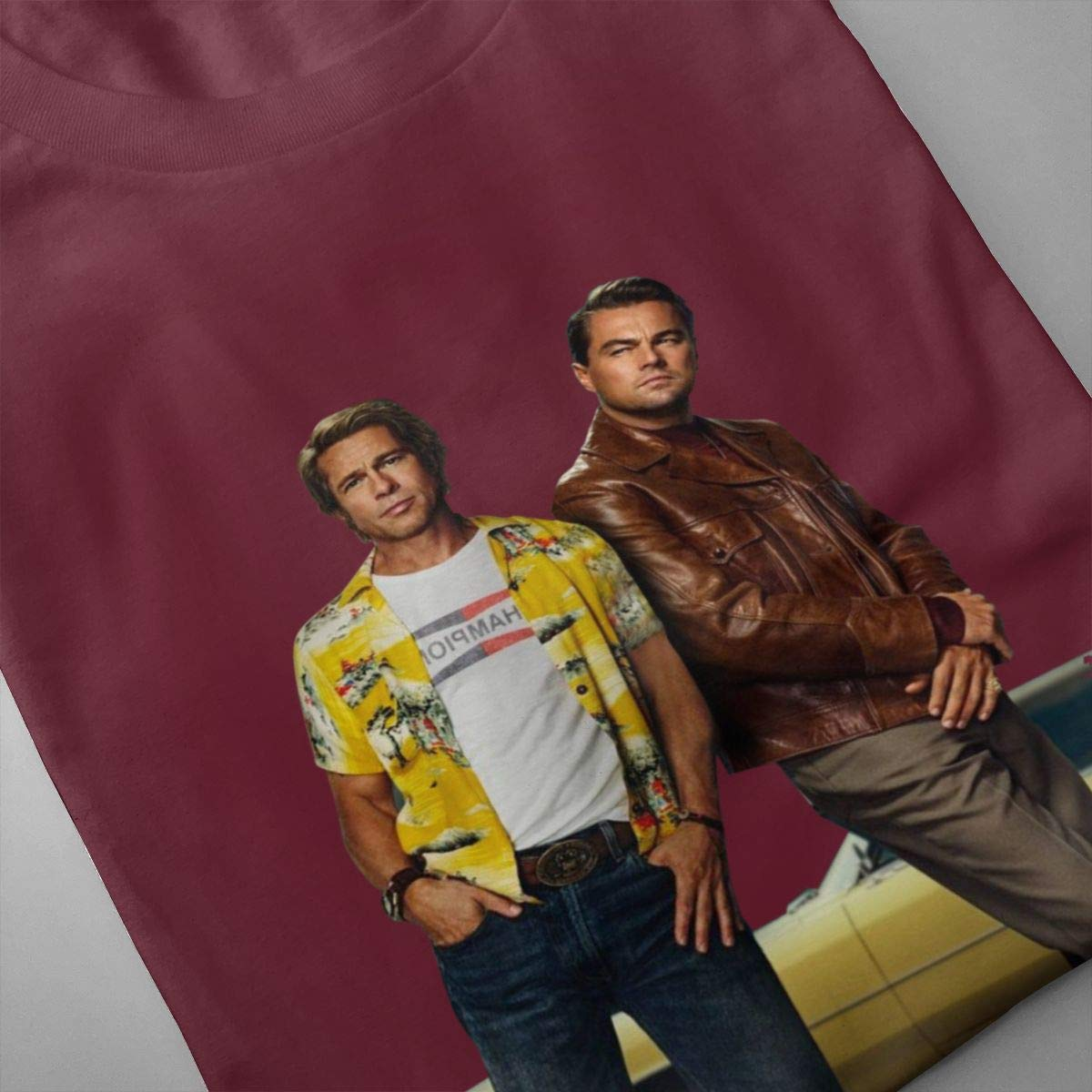 Kennethallen Once Upon A Time in Hollywood Cute T-Shirt for Teen Kids Boys Girls