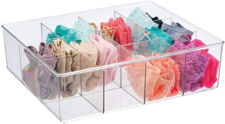 mDesign Caja organizadora con 12 compartimentos – Práctico ...
