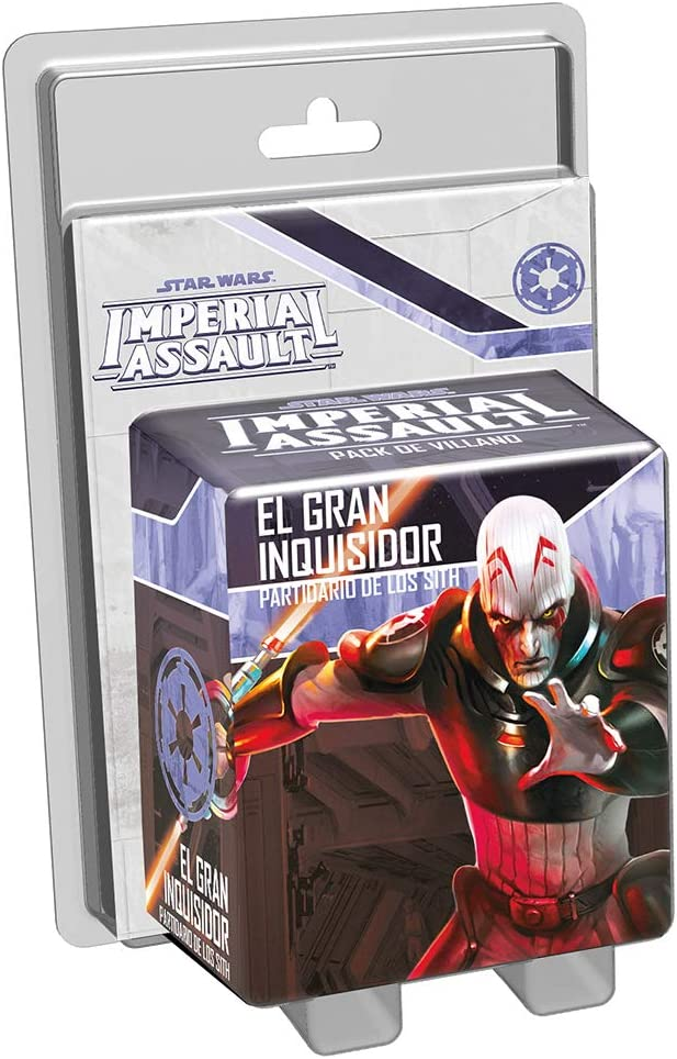 Fantasy Flight Games Star Wars Imperial Assault: El Gran Inquisidor-Español, Color (FFSWI30)