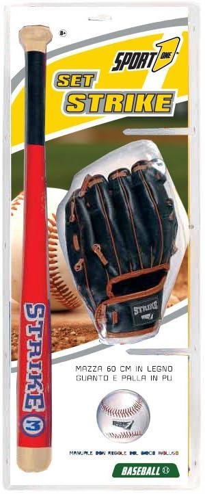 Juego Béisbol, Kit Béisbol, Bate de béisbol 60 cm, Guante de ...