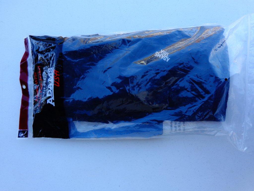 Adams Football Wear 5-pieceパッド圧縮シャツFlacジャケット – 黒-l
