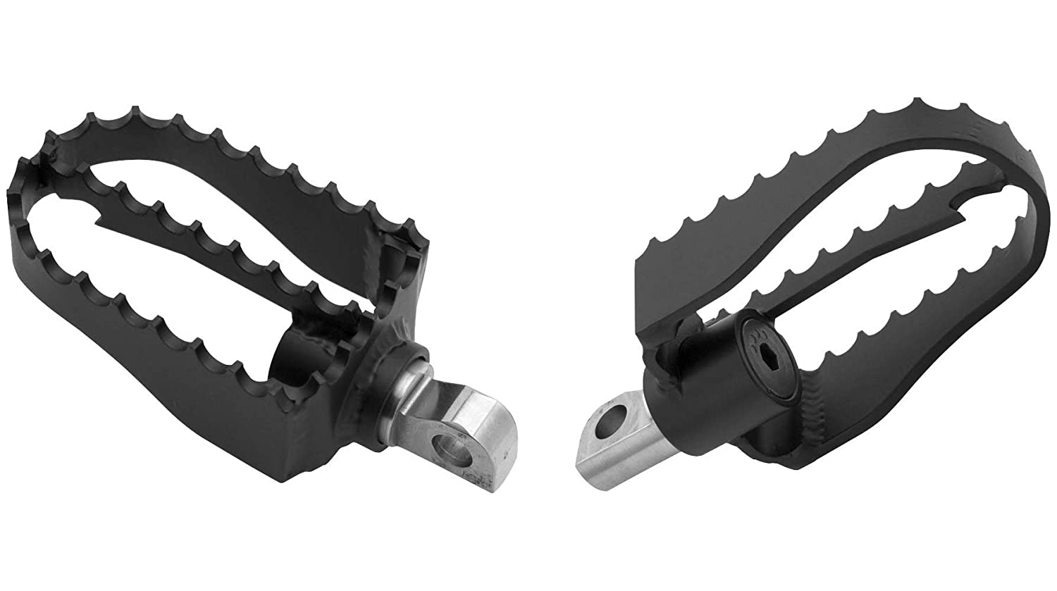 Progressive Suspension MX Style Footpegs B13-1000 Burly Brand tr-070675