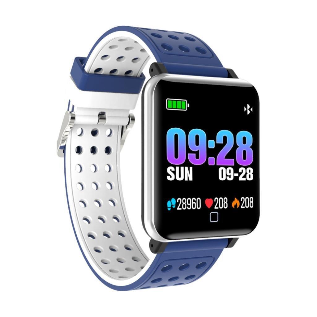 Fuibo Smartwatch, M19 Smart Armband Pulsmesser Blutdruck Fitness Tracker Armbanduhr Sport Fitness Tracker Armband