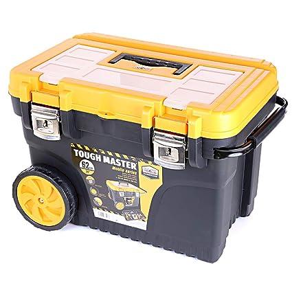 UK Planet UPT-2010 - Caja de herramientas profesional con ruedas (62 cm)
