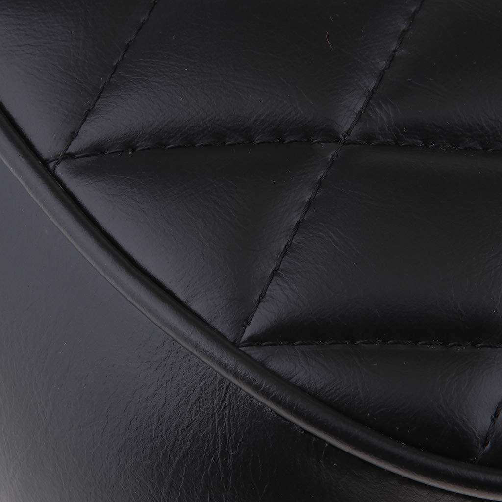 #3 Noir 63cm Homyl Cafe Racer Brat Flat Si/ège De Moto Vintage Refit Selle