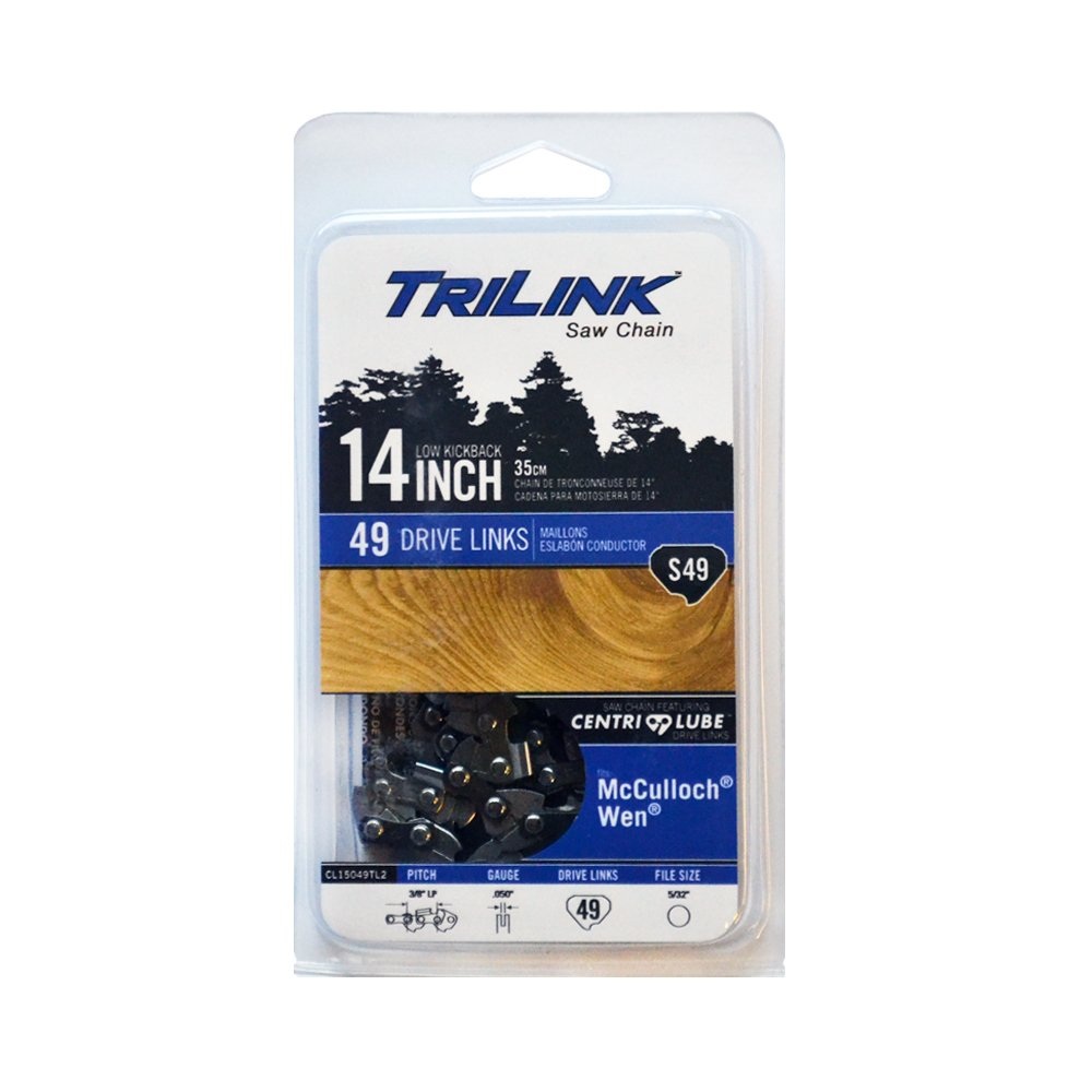 Trilink Saw Chain CL15049TL2 14'' Chainsaw Chain S49