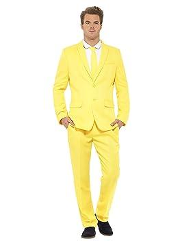 Carnaval Hombre Traje Amarillo: Amazon.es: Juguetes y juegos