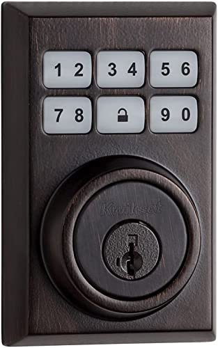 Kwikset 910 Z-Wave Contemporary SmartCode Electronic Touchpad Deadbolt