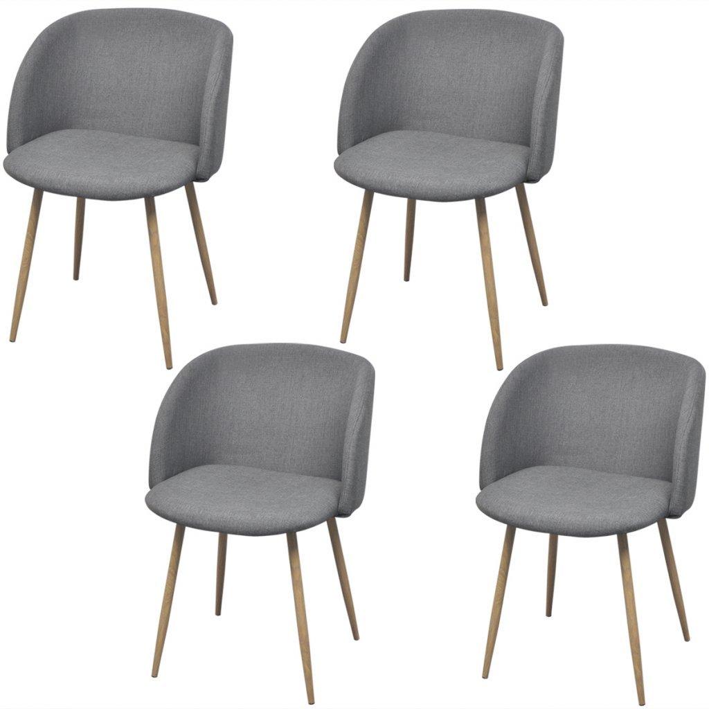 Amazon.de: Festnight 4er-Set Esszimmerstühle Stühle Essstuhl ...