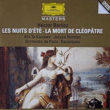 Berlioz - Les Nuits D'Ete / La Mort De Cleopatre by Orchestre De Paris
