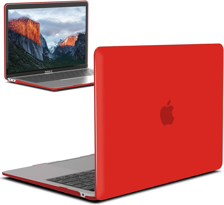 Funda hard MacBook Air 13 inch M1 A2337 A2179 A1932 roja
