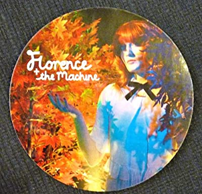 Florence and the Machine - Ceremonials - Rare Advertising Sticker