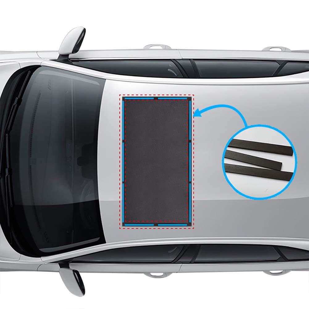 ACUMSTE Sunroof Sun Shade Magnetic Net Car Moonroof Mesh 10 ...