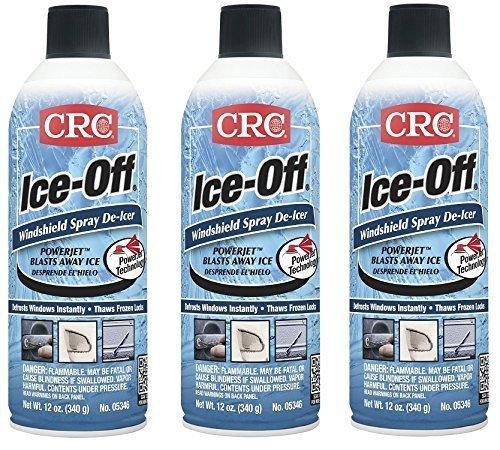 : CRC 125-05346-3 WindshieldSpray, 3 Bottles, Spray