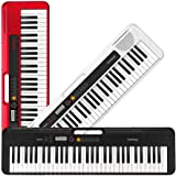 Casio Casiotone, 61-Key Portable Keyboard with USB, RED (CT-S200RD)
