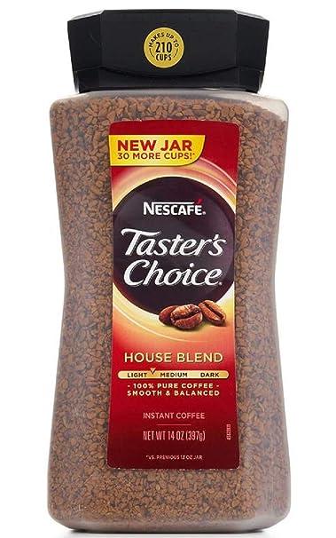 Tasters Choice - Cafetera instantánea, 354 ml: Amazon.com ...