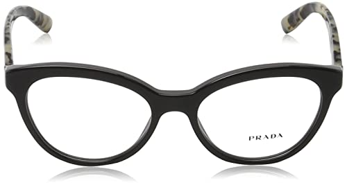 de74a835589f Amazon.com: Prada Women's PR 11RV Eyeglasses Opal Grey/Grey 52mm: Shoes