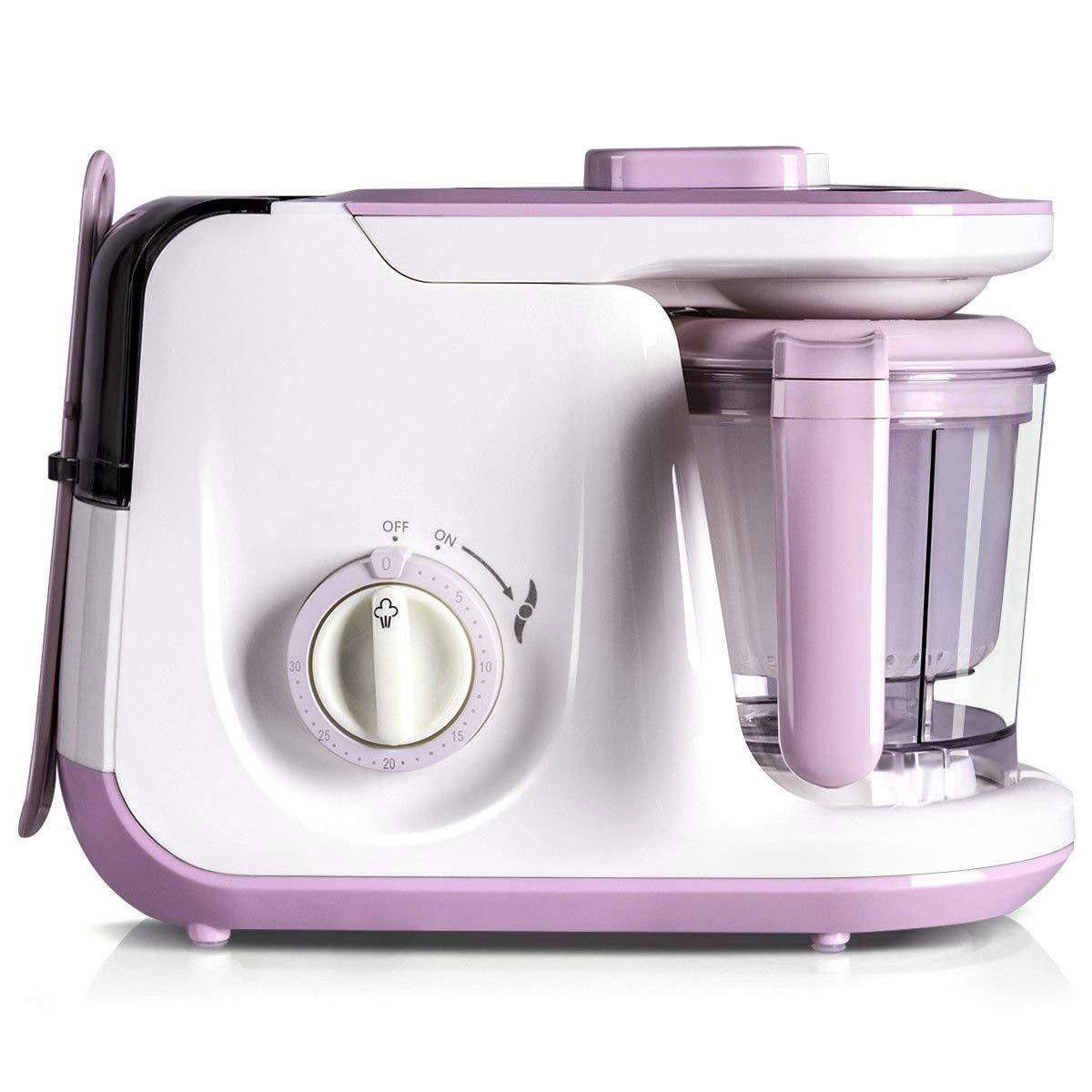 zwan 5 in 1 Heating Defrosting Baby Food Maker Infant Feeding Blender with Ebook