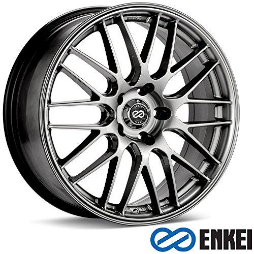 18x8 Enkei EKM3 (Hyper Silver) Wheels/Rims 5x112 - Rims Hyper Silver