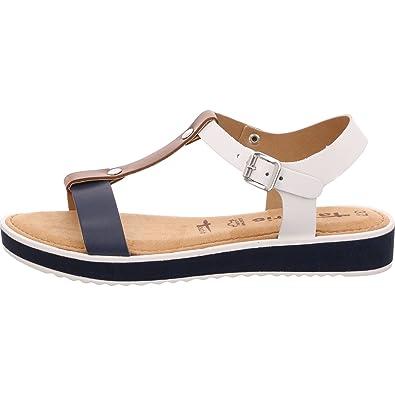 5d2a83b5 Tamaris Touch-IT Blue Size: 6 UK: Amazon.co.uk: Shoes & Bags
