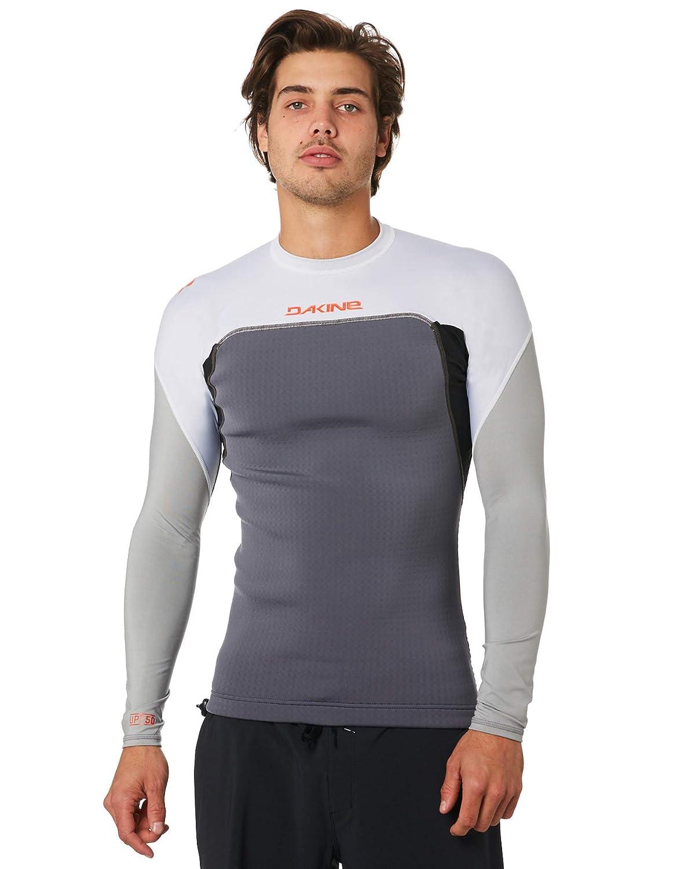 DAKINE Hombre Storm Snug Fit Camiseta de Manga Larga con Chaleco Rash de Carbono Camisa de Surf h/íbrida y Ajustada