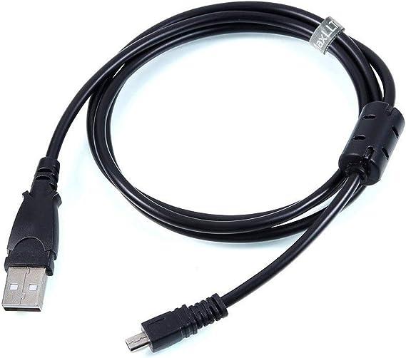Babz Tech Cable USB de Transferencia de Datos para c/ámara Panasonic Lumix DMC-TZ70