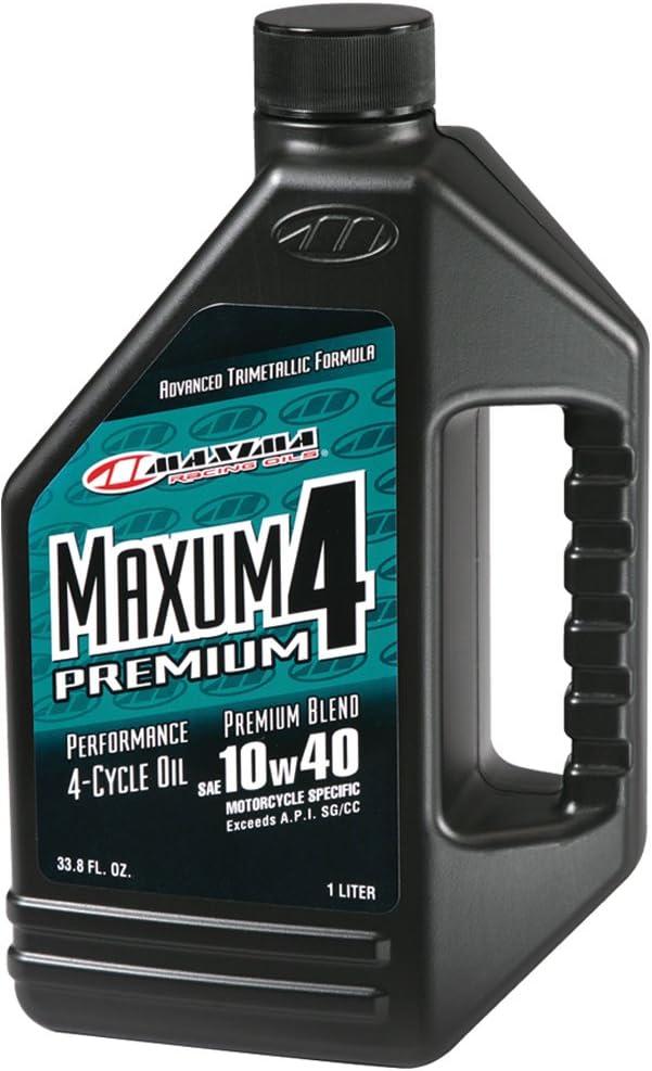 Maxima 34901 Premium4 10W-40 Motorcycle Engine Oil