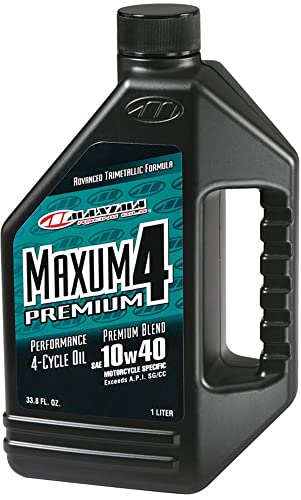 Maxima Premium4 10W-40 Motorcycle Oil