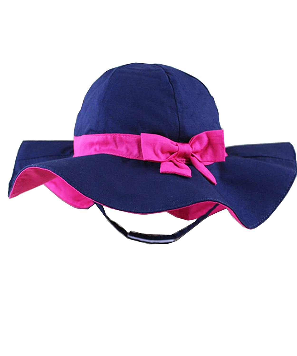 Toddler Bucket Hat Kid Baby Infant Summer Cute Cap Wide Brim Sunhat UV Protection