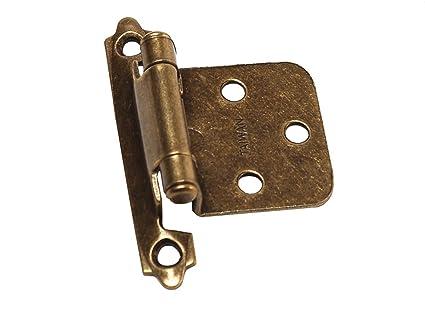 RV Designer H233, Self Closing Hinge, Antique, 2 Per Pack, Cabinet Hardware - Amazon.com: RV Designer H233, Self Closing Hinge, Antique, 2 Per