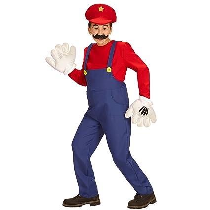NET TOYS Disfraz Infantil Super Mario - 111 - 116 cm, 4 - 5 ...