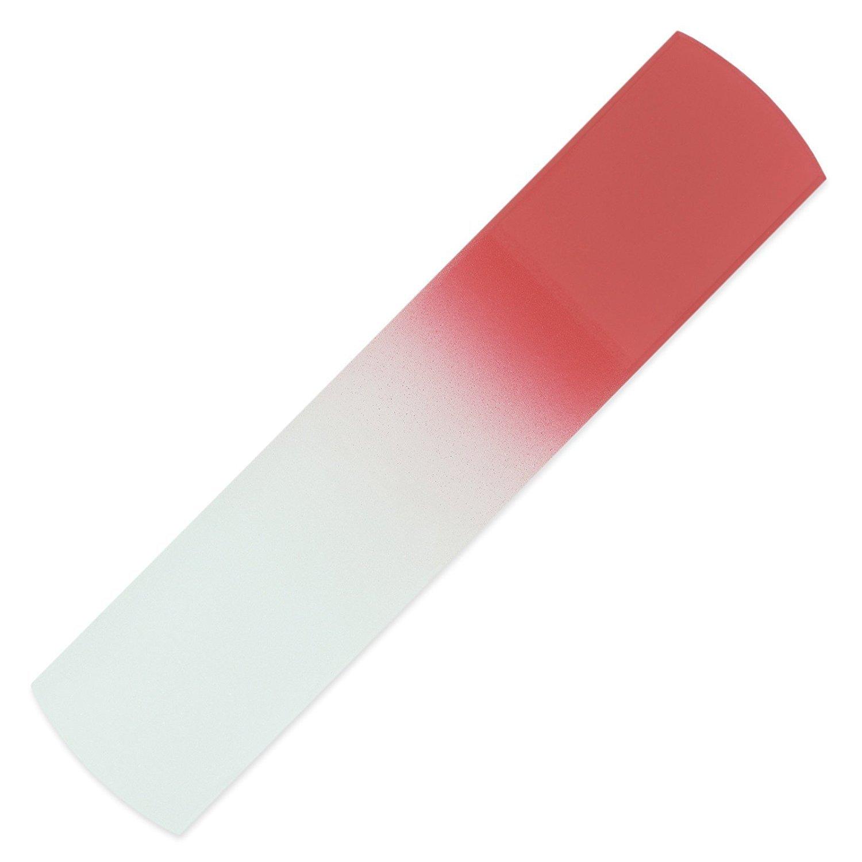 Hand Made Glass Foot File & Pedicure Rasp, Genuine Czech Tempered Glass, Lifetime Guarantee | Corn & Dead Skin Remover | Calluses, Coarse, Hard Skin Remover Mont Bleu